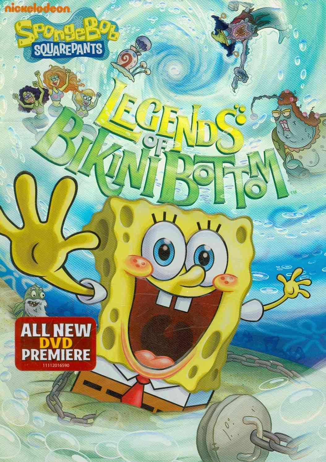 SPONGEBOB SQUAREPANTS:LEGENDS OF BIKI BY SPONGEBOB SQUAREPANT (DVD)